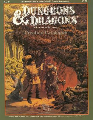 Dungeons & Dragons - Creature Catalogue