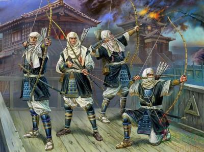 zvezda-6408-1-72-japanese-warrior-monks-archers